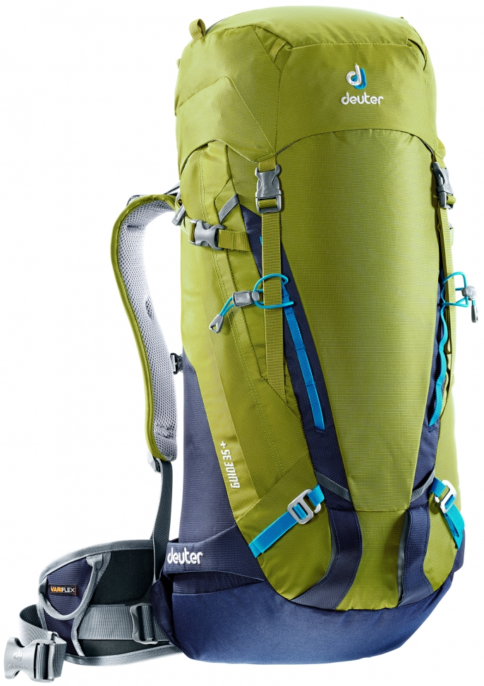 Batoh DEUTER Guide 35+ moss-navy