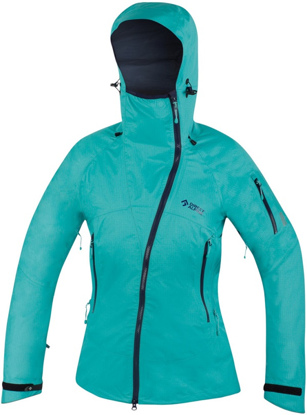 Bunda DIRECT ALPINE Guide lady 2.0 menthol/indigo