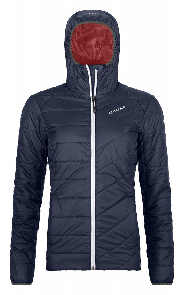 Bunda ORTOVOX W´s Piz Bernina Jacket dark navy