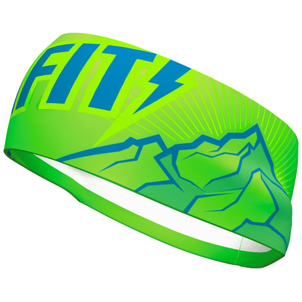 Čelenka DYNAFIT Graphic Performance headband lambo green