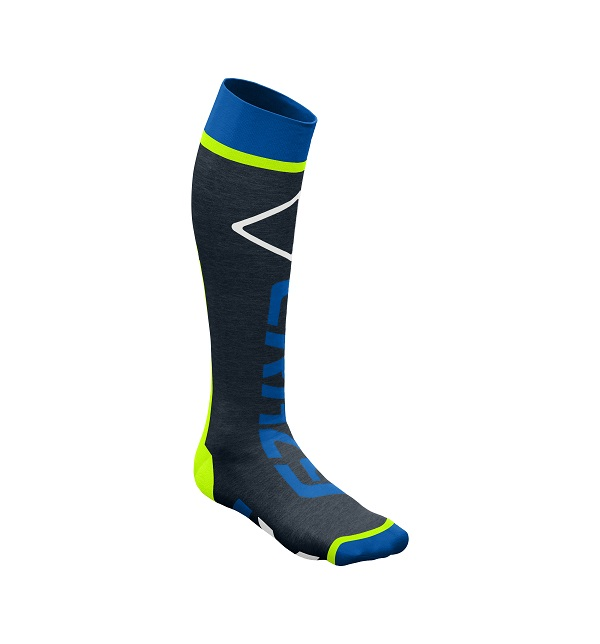 Ponožky CRAZY IDEA Carbon socks W20386019X-36 lime