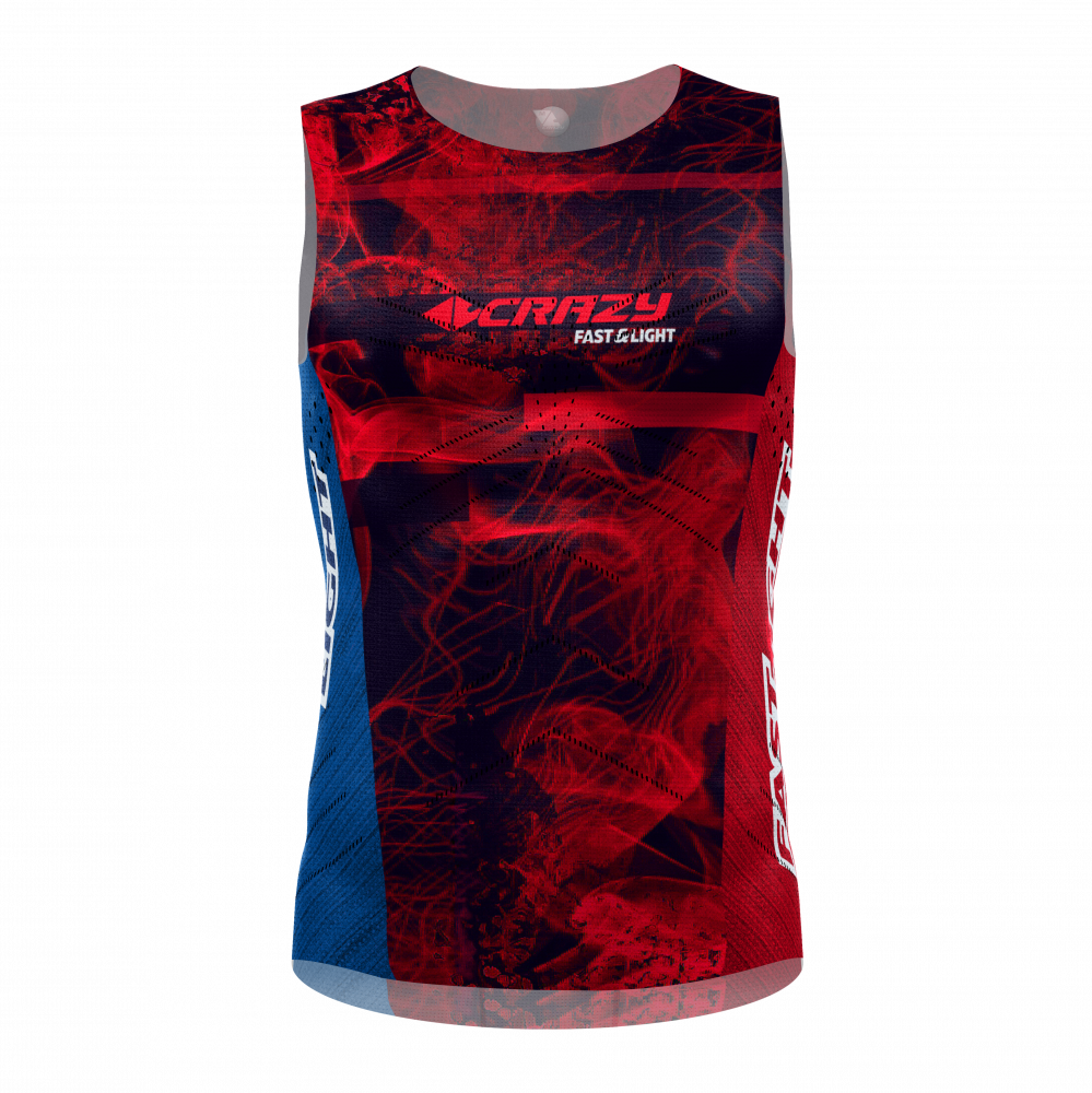 Tielko CRAZY IDEA Singlet Thunder man fire