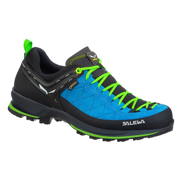 Topánky SALEWA MS MTN Trainer 2 GTX blue danube/fluo green