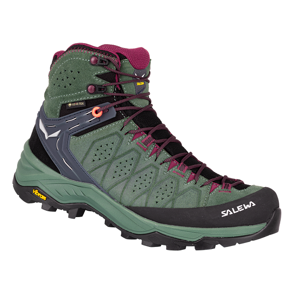 Topánky SALEWA WS ALP Trainer 2 mid duck green rhododendon
