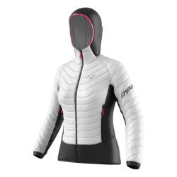 Bunda DYNAFIT TLT Light Insulation W Hooded JKT nimbus