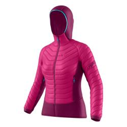 Bunda DYNAFIT TLT Light Insulation W Hooded JKT flamingo