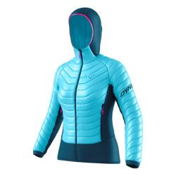 Bunda DYNAFIT TLT Light Insulation W Hooded JKT silvretta
