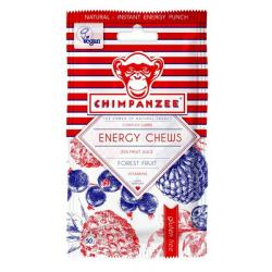 Cukríky CHIMPANZEE Energy Chews forest fruit 30g