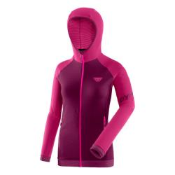 Mikina DYNAFIT Speed Thermal W Hooded flamingo