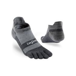 Ponožky INJINJI Run Lightweight NS Nuwool grey