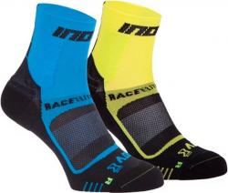 Ponožky INOV-8 Race Elite Pro blue black/yellow black