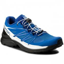 Topánky SALOMON Wings Pro 3 nautical blue/black/white