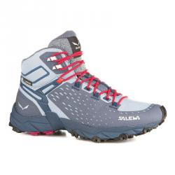 Topánky SALEWA W´s Alpenrose Ultra Mid GTX grisaille/poseidon