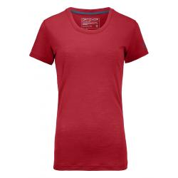 Termo tričko ORTOVOX 150 Cool Clean T-Shirt hot coral