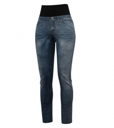 Nohavice CRAZY IDEA Sound woman print light jeans